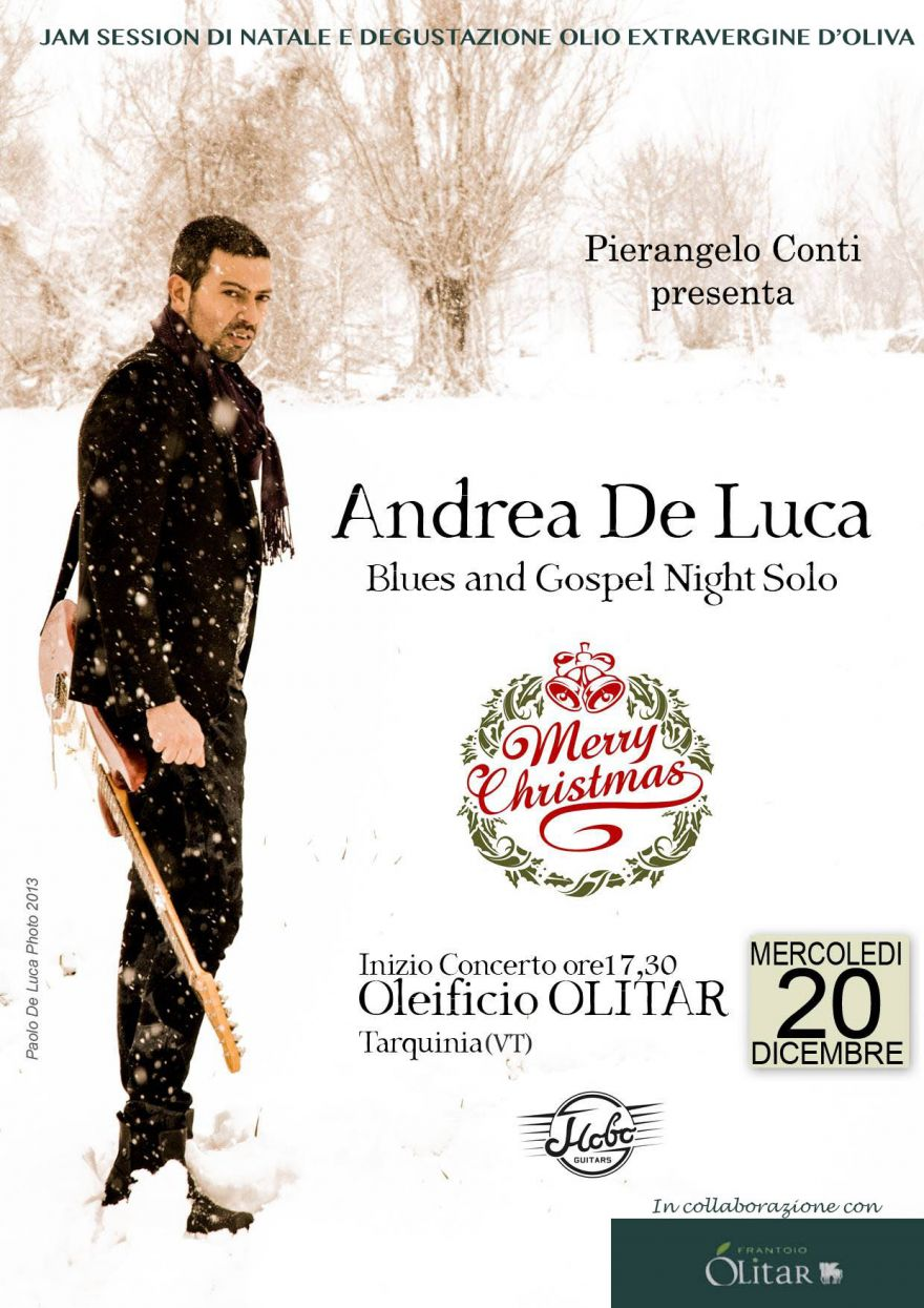 Andrea De Luca Blues and Gospel Night Solo